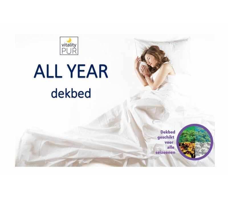 All year dekbed Davik 140 * 200