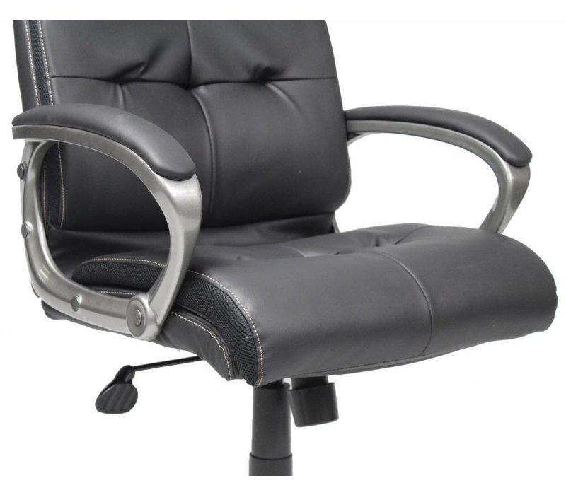 Comfortabele bureaustoel Master zwart