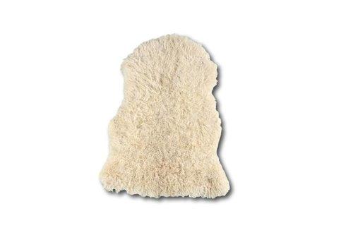 Schapenvacht krullend wit