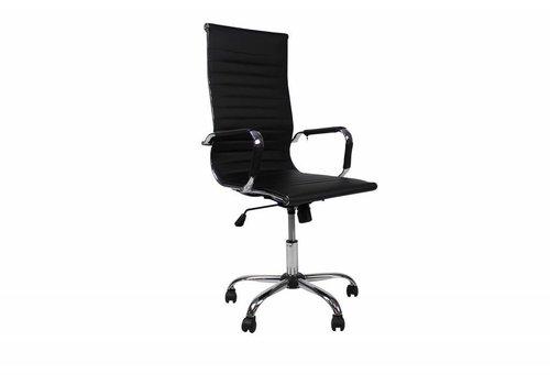 Moderne bureaustoel Mile zwart