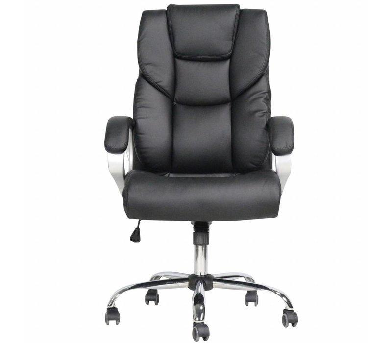 Moderne bureaustoel Dave zwart