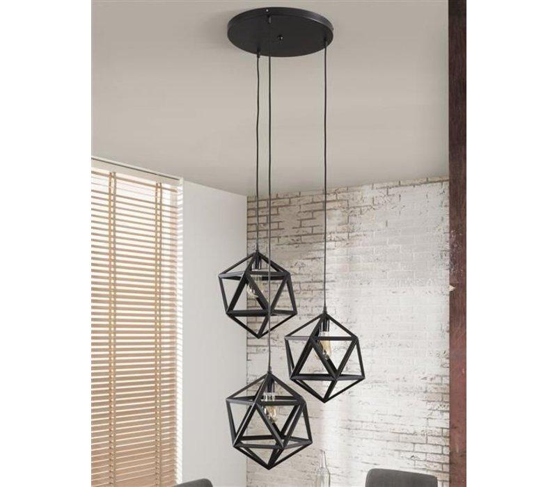 Hanglamp 3L Triangle Edge