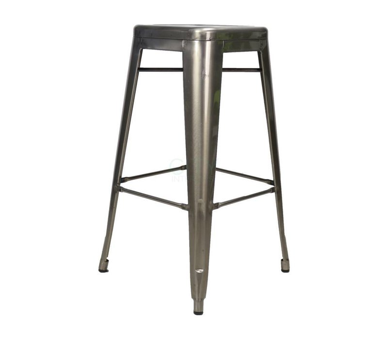 Industriële retro kruk Blade metaal