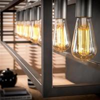 Industriële Hanglamp Lucas 7 Lampen