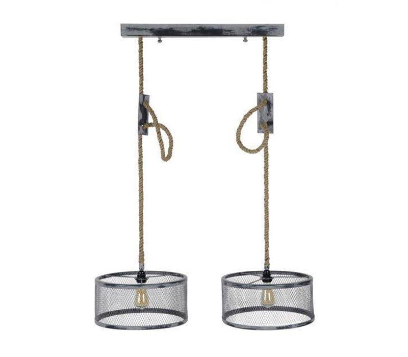 Industriële Hanglamp Kiki 2 x Ø 40 cm