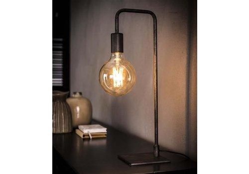 Tafellamp ranke gebogen poot