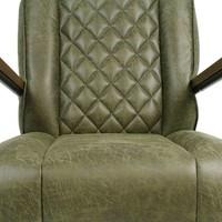 Industriële fauteuil Mex groen