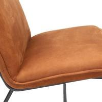 Industriële fauteuil Harvey cognac microvezel