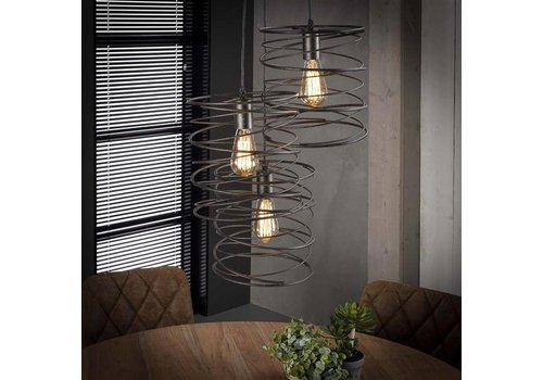 Hanglamp Twist 3x getrapt
