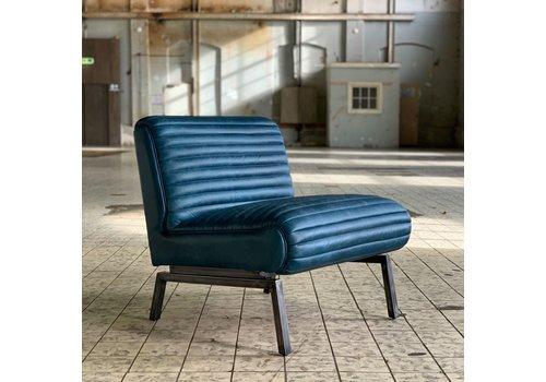 Bronx71 Industriële fauteuil Kira blauw