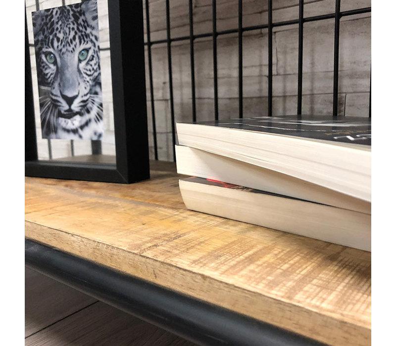 Industriële boekenkast Estelle 80x180 cm