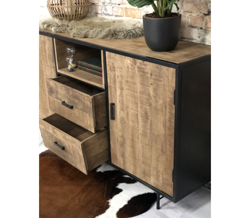 Dressoir massief mangohout Azua