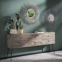 Spiegel rond  Nora 80 cm