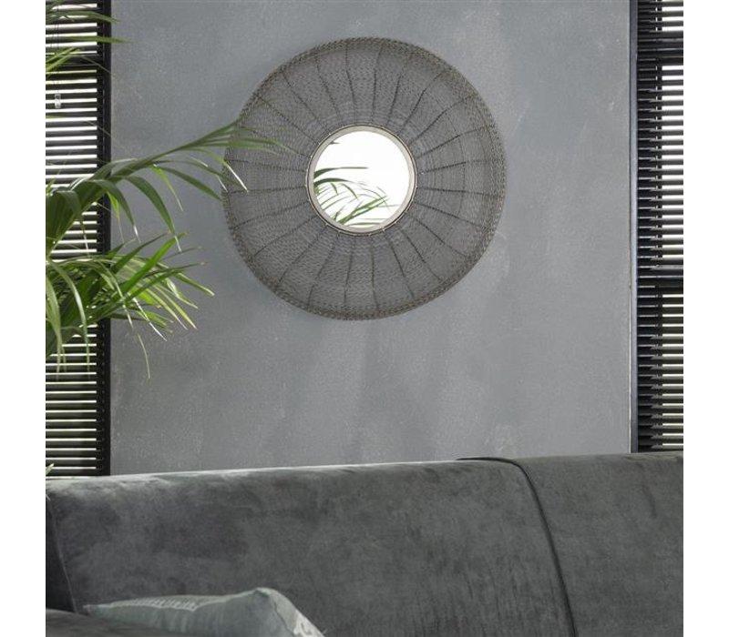 Spiegel rond Roos 65 cm