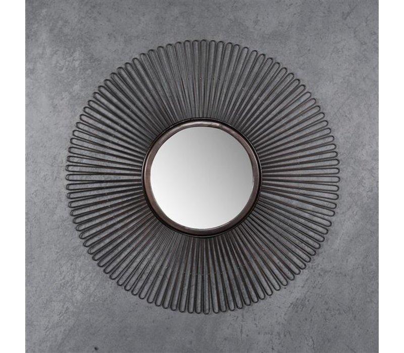 Spiegel rond Lila 80 cm