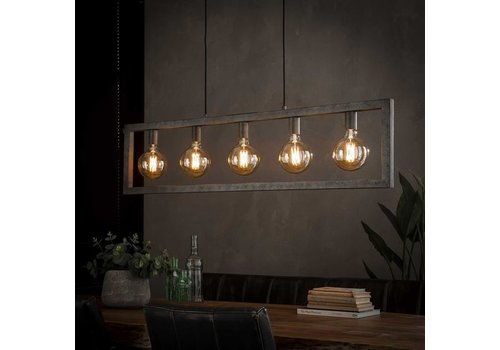 Industriele hanglamp Steph - 5 Lichts