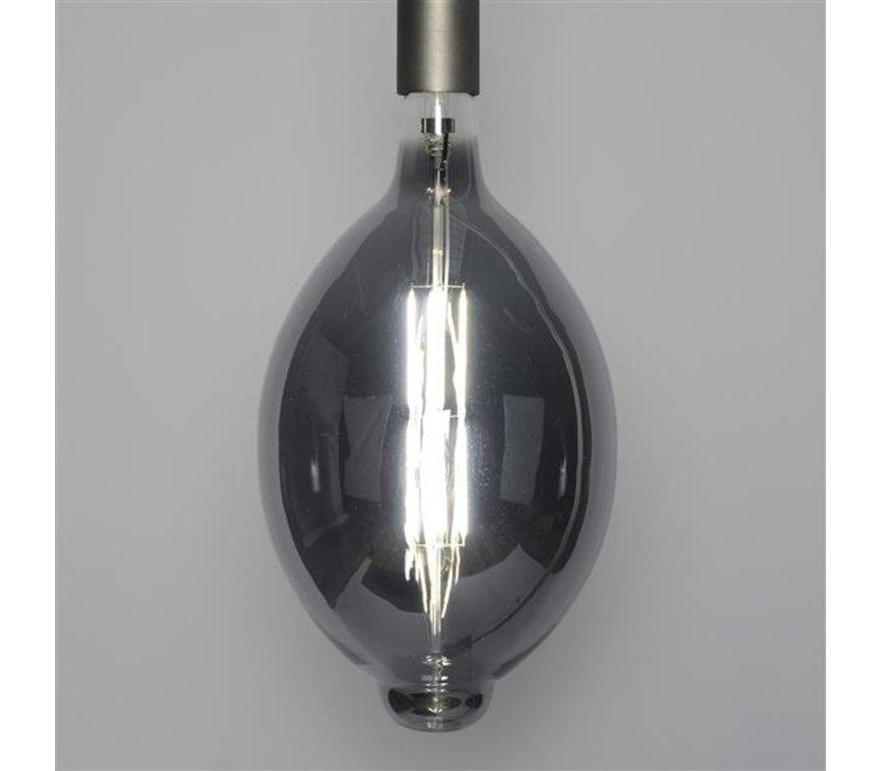 Lichtbron LED filament bol Ø 18 Smoke Grey