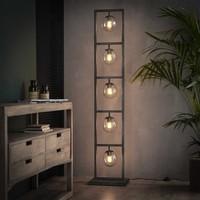 Industriële vloerlamp Willow 5-lichts