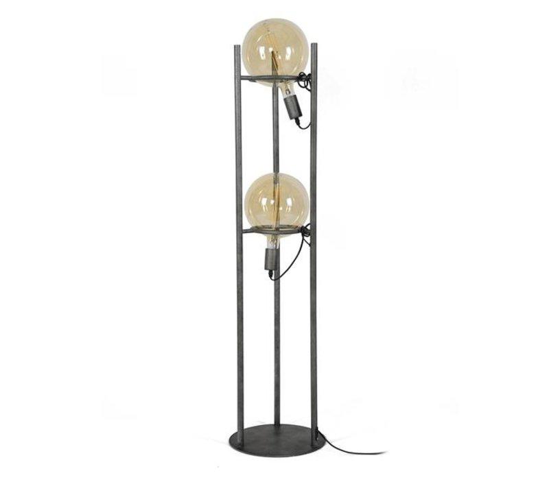 Industriële vloerlamp Willow 2-lichts