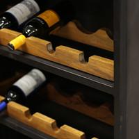 Industriële wijnkast Nero