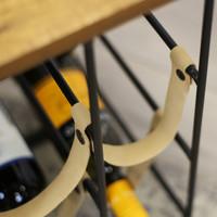 Industrieel wijnrek Julie