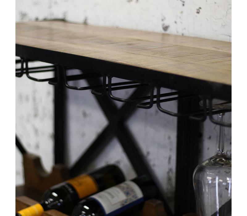 Industrieel wijnrek Bandol