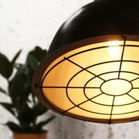 Industriële hanglamp Pierre 50 cm koper