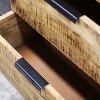 Industrieel dressoir Xavi 45x180x86 cm