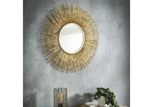 Spiegel rond Gona goud 80 cm