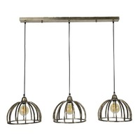 Industriële hanglamp Rib - 3 lichts