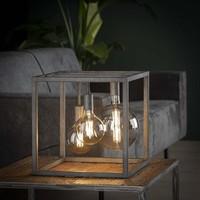Industriële tafellamp sam XL - vierkant frame