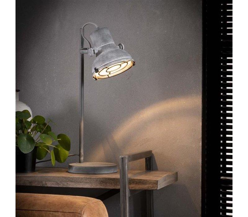 Industriele tafellamp betonlook