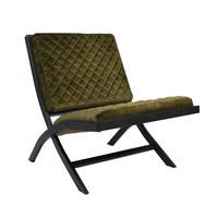 Design fauteuil Madrid velvet Luxury groen