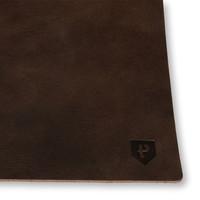 Leren placemat set van 2 Pearson bruin
