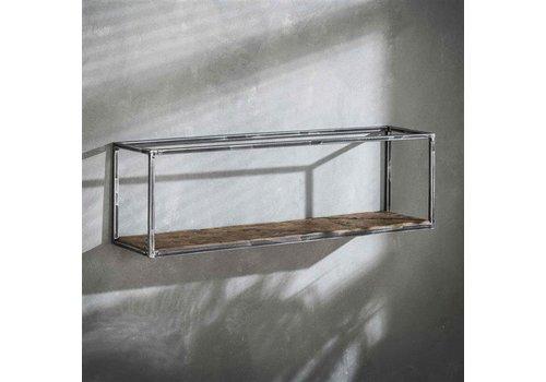 Industriële wandplank Grace 100 cm