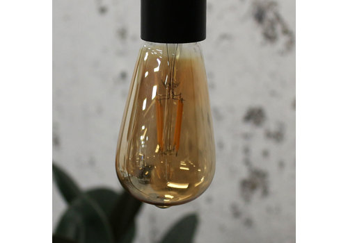 Lichtbron LED filament druppel 4W 2700K