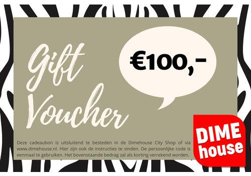 Dimehouse Cadeaubon t.w.v. €100
