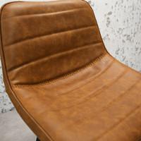 Industriële barkruk Kenton Cognac Premium