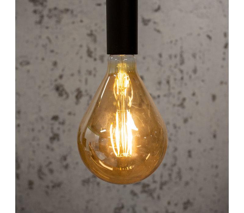 Industriële hanglamp Miles Goud
