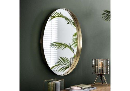 Spiegel rond Tess goud 75 cm