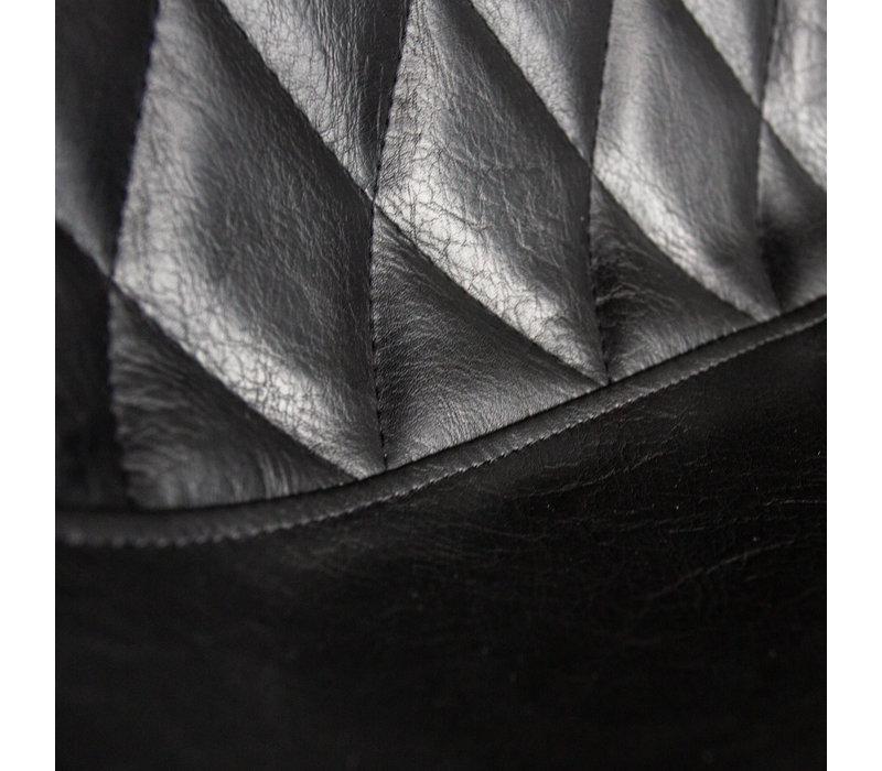 Industriële barkruk Juno Zwart