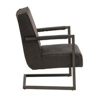 Industriële fauteuil Tiger antraciet