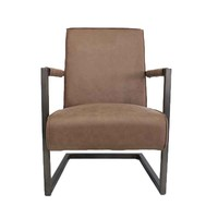 Industriële fauteuil Tiger taupe