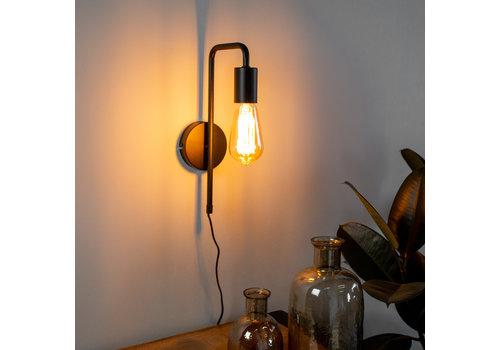 Wandlamp industrieel Cali U-vormige buis
