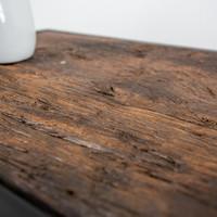 Industrieel Dressoir Rayan robuust hout 90 cm
