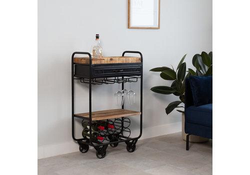 Industriële wijn trolley Taylor