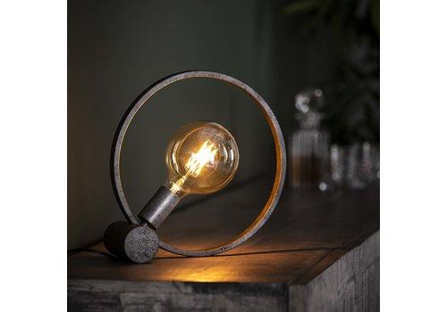 Tafellamp Ø30 cm Industrieel Rond Winster