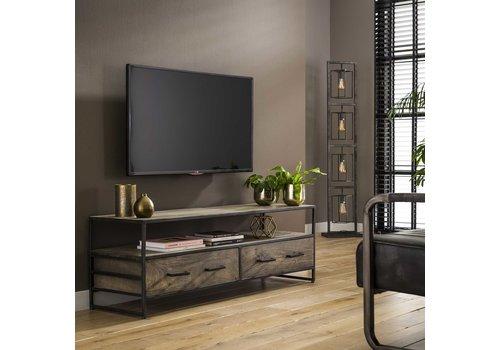 TV-meubel Industrieel Acaciahout Tamar