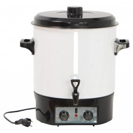 Glühweintopf,Volumen 27 Liter,1800 Watt,230 Volt, in Farbe schwarz !