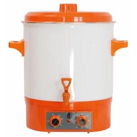 Glühweintopf, Volumen 27 Liter,1800 Watt,230 Volt, in Farbe orange !